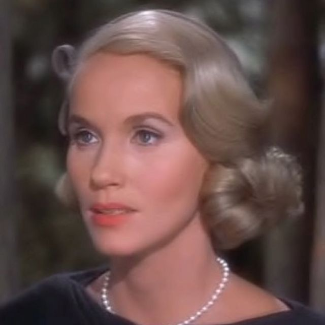 Hitchcock blonde Eva Marie Saint in my favorite of his movies North by Northwest. She's so cool.
