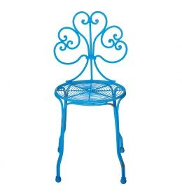 Oliver Bonas London - Bright Metal Garden Chair