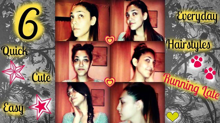What A Girl Wants And Needs Beauty: 6 Γρήγορα, Γλυκά και Εύκολα Καθημερινά Χτενίσματα ...