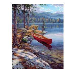 Набор для раскрашивания картины по номерам Пейзаж (PBNACM4)