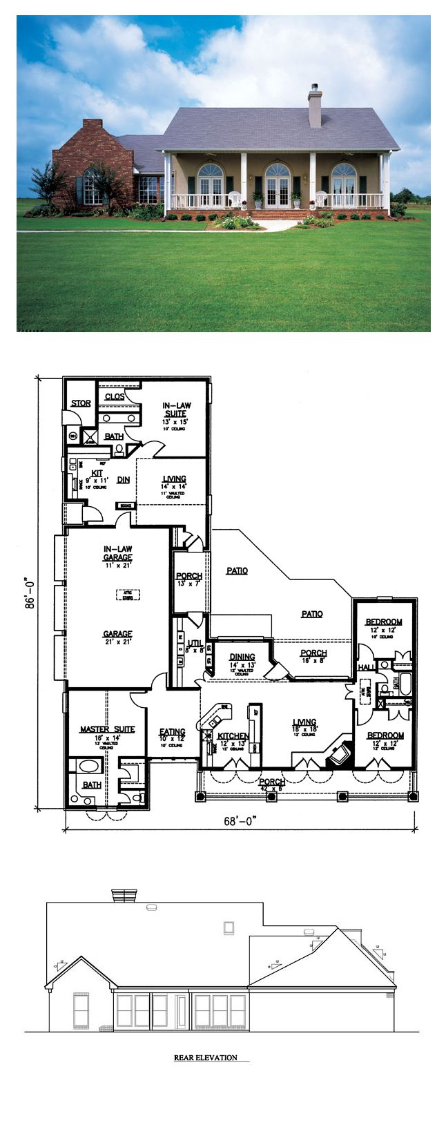 16 best european french house plans images on pinterest cool european style cool house plan id chp 33848 total living area 2400