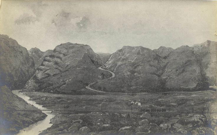 Nitral's Nek (Kommando Nek) in die Magaliesberge