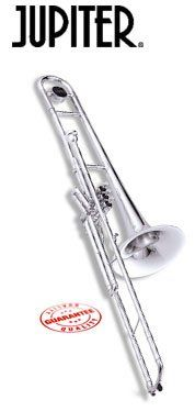 Jupiter 528S Bb Valve Trombone (Silver Plated), 2015 Amazon Top Rated Trombones #MusicalInstruments