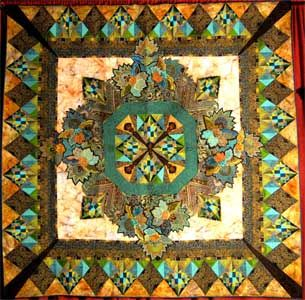 Best of Show at Pacific International Quilt Festival in 2010! Celebrate our 25th year with us October 13-16, 2016
