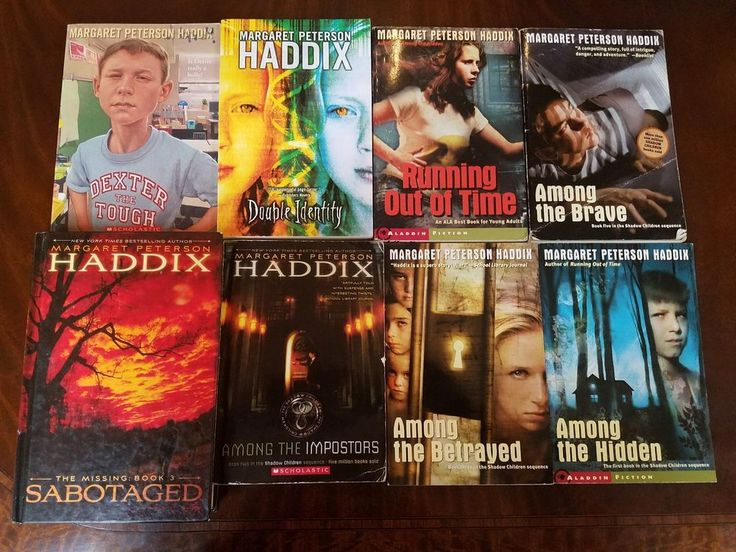 Lot 8 Margaret Peterson Haddix Books The Shadow Children Series