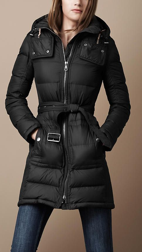 Burberry Brit Long Down Filled Jacket. Id love this for next winter, looks very warm! £495
