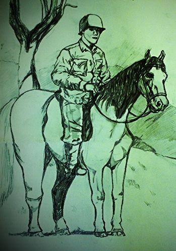Scouting by Horseback.