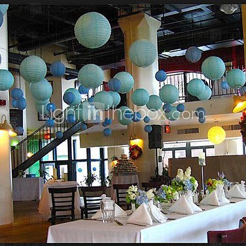 Hochzeitsdekor 12 inch (30cm) Chinesische Laterne für Baby-Dusche Geburtstag Dekoration - EUR €2.93