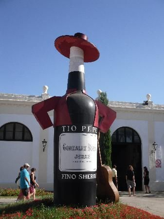 Jerez Spain. We had a chance to visit the bodega di Domeq. We even got to sign a barrel