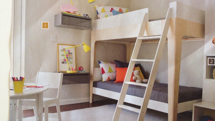 Luxury Modern Bunk Bed with Stairs