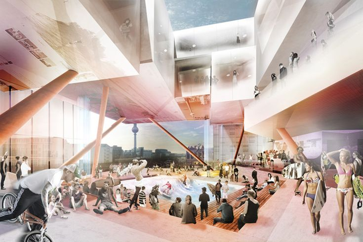 j. mayer h. architects stacks experiential volt berlin complex - designboom | architecture & design magazine