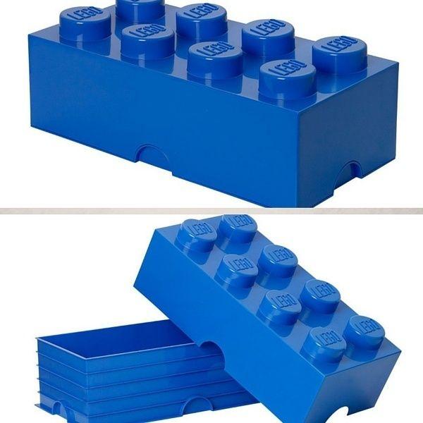 Boîte de rangement LEGO  http://www.homelisty.com/rangement-lego/