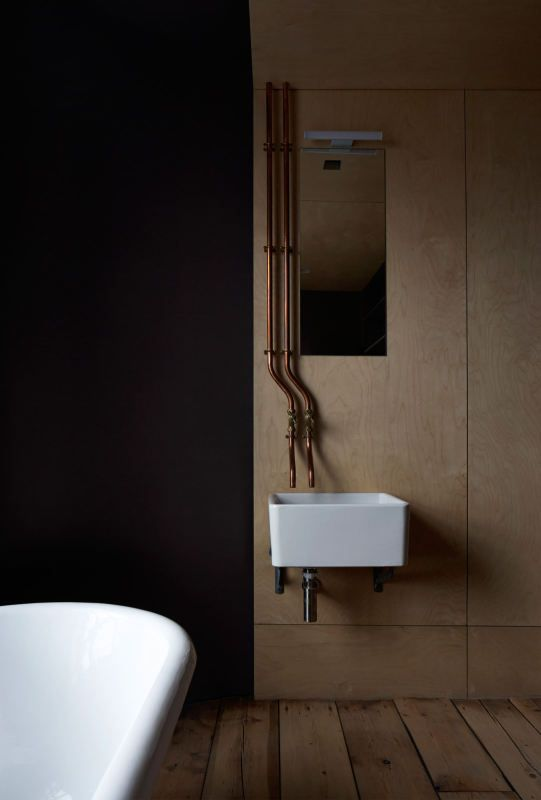 Industrial bathroom love Ironmongers' Quarters | Jonathan Tuckey Design