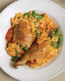 Authentic Cuban Arroz con Pollo - Chicken & Rice