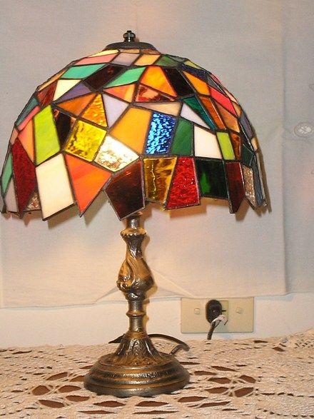 lamparas vitraux tiffany - Buscar con Google