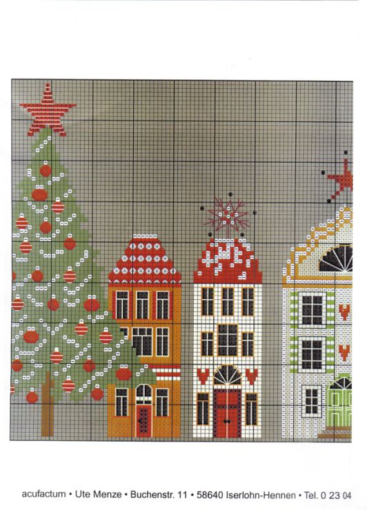 Christmas Town • 4/5 Chart Middle RHS