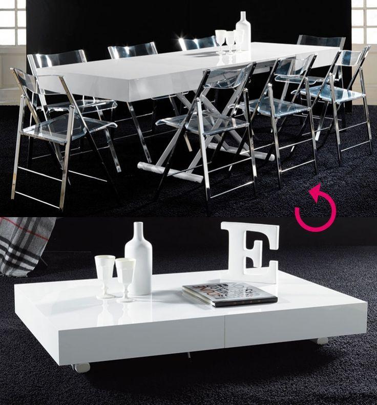 Les 25 meilleures images du tableau table basse table for Table salon convertible