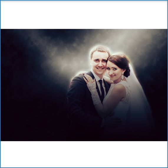 A spotlight from #heaven for the newly wed...add #awesome #photo effects to your #wedding photos at jazzypics.com