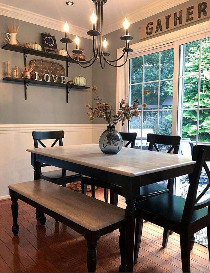 20 inspiring farmhouse dining room design ideas in 2020