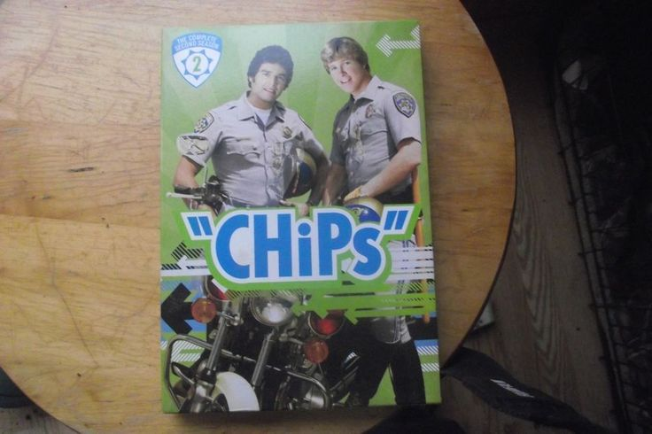 CHiPS Complete 2nd Season DVD Erik Estrada Larry Wilcox California Highway Patro