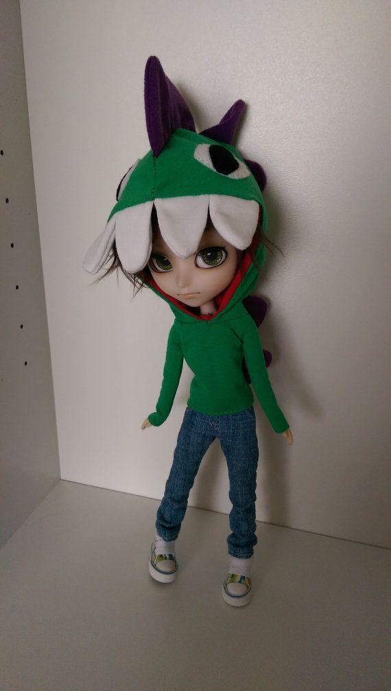 Dinosaur hoodie/hoody for Isul/Pullip doll