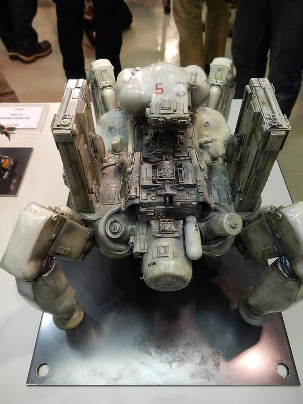 Awesome mech model