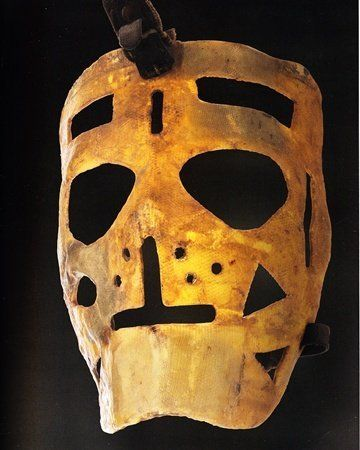Terry Sawchuck goalie mask                                                                                                                                                                                 More