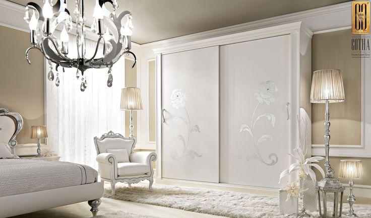Armadio Glamour Collection - Gotha Luxury Bedroom Forniture #GothaLuxury #luxury #bedroom