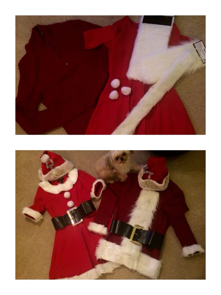 DIY - Santa Costumes - SANTACON