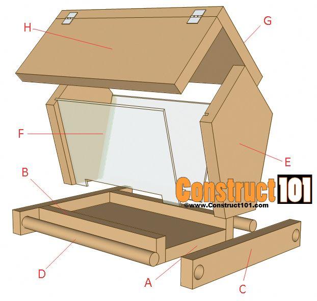 Home Design Ideas Free Download: Build A Bird Feeder - PDF Download