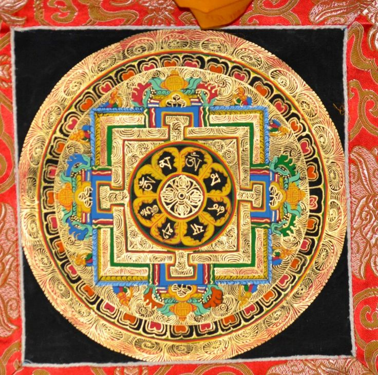 central point buddhist personals A mandala is a representation  in a circular pattern which leads to a central point  with the cross as the centre point of the circle in buddhist mandala,.