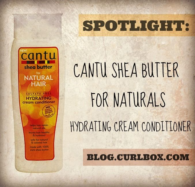 SPOTLIGHT: CANTU SHEA BUTTER FOR NATURALS HYDRATING CREAM CONDITIONER - http://blog.curlbox.com/2014/06/16/spotlight-cantu-shea-butter-for-naturals-hydrating-cream-conditioner/