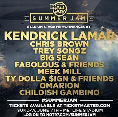 The Poetic Vault : STREAM: HOT 97's Summer Jam Live