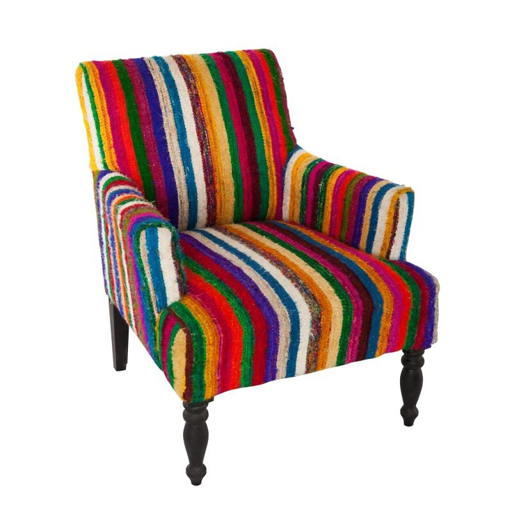 Chindi Armchair And Footstool - Shopcade: Style & Shopping