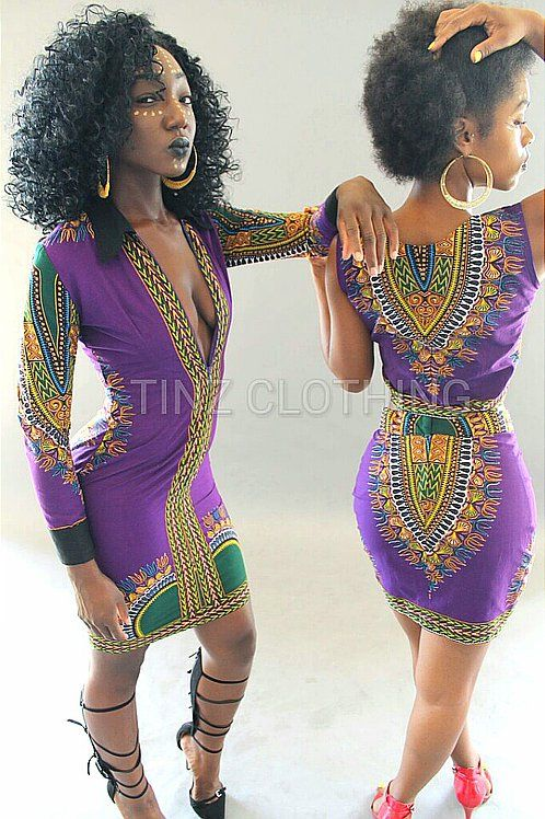 Royal Purple Dashiki <3 African Royalty attire