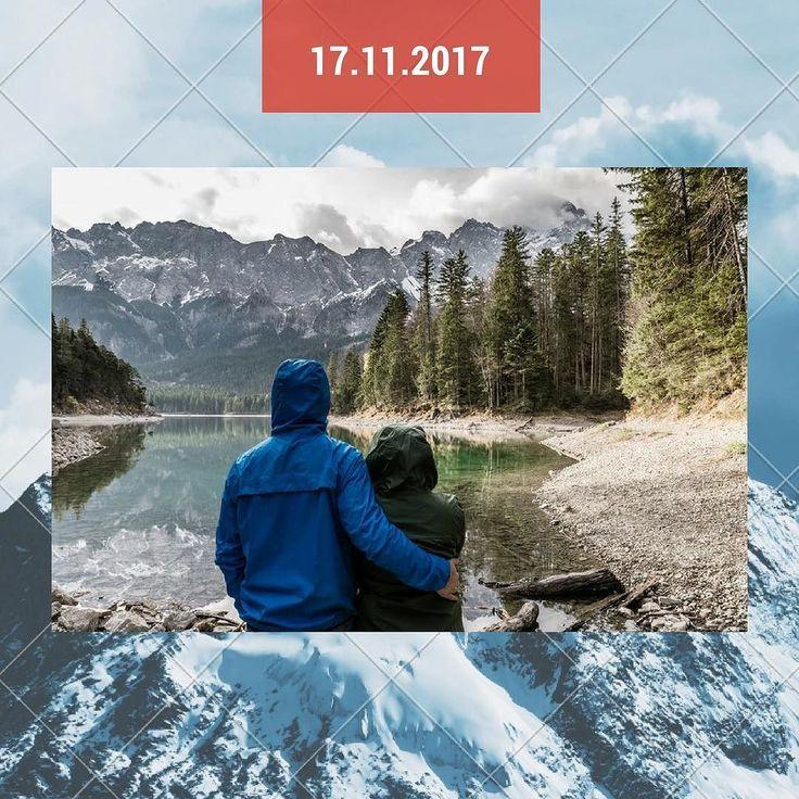 17.11.2017: Geh-Wandern-Tag!  Eine lange Strecke hinter Dir und eine wunderschöne Landschaft vor Dir. Das ist Wandern!  Lust auf ein neues Abenteuer? www.einmalige-erlebnisse.de  #abenteuer #wandern #wanderlust #natur #landschaft #erlebnis
