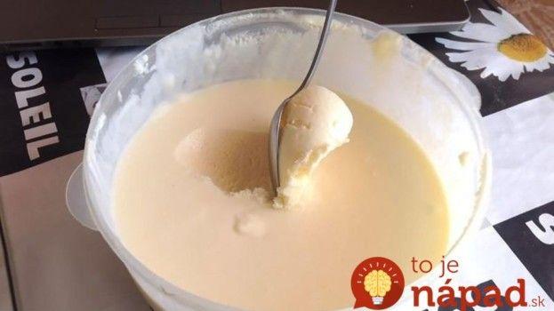 Zmrzlina z čias nášho detstva: Potrebujete len 4 prísady a pár minút!