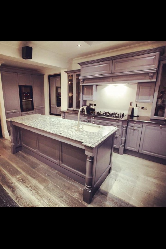 Superb Love this finish Cabinets and Floors