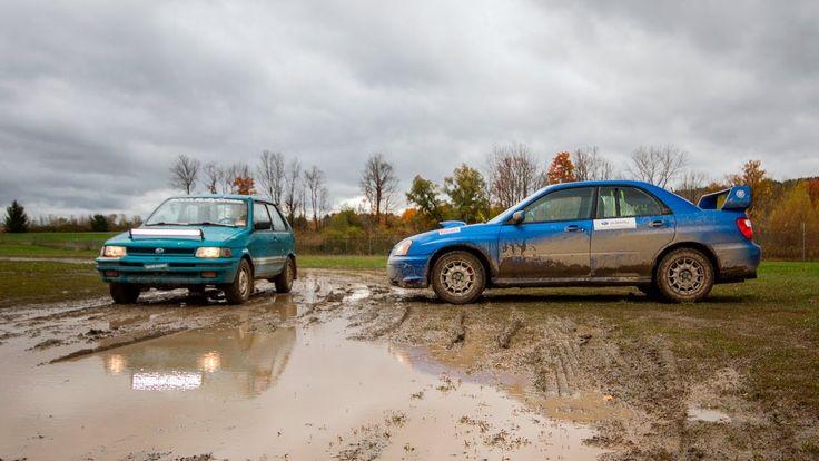 Subaru Justy and STI Rallying #subaru #wrx #sti #impreza #forester #subie