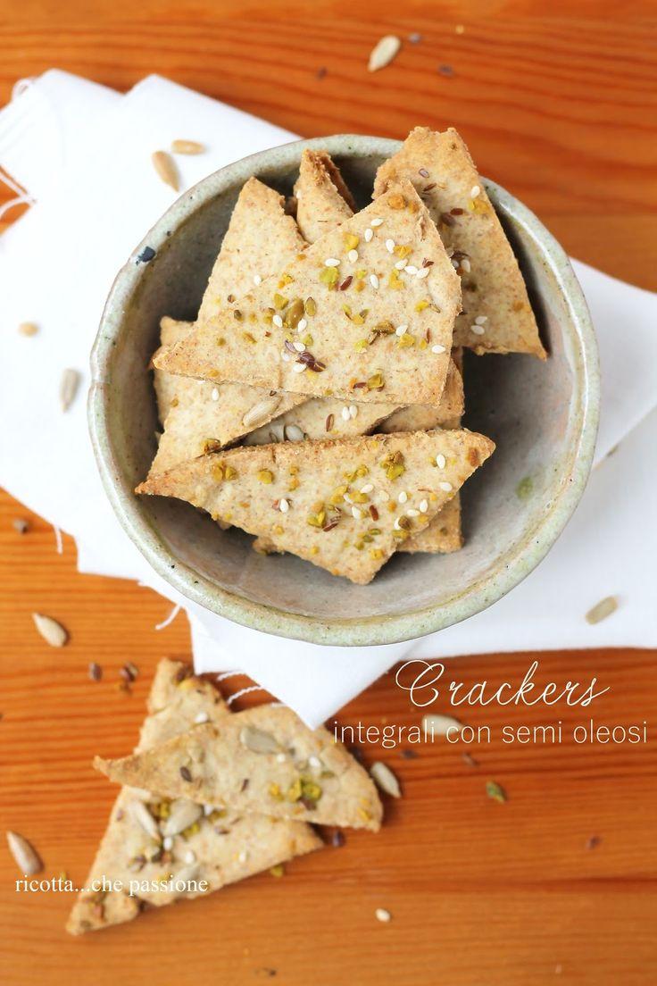 Crackers di ricotta...che passione