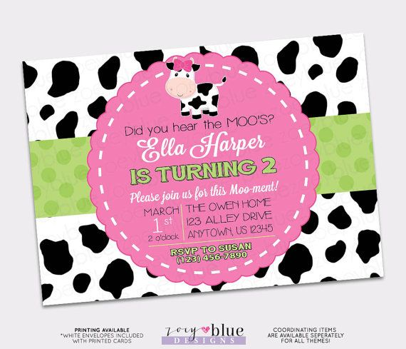112 best barnyard first birthday pink images on pinterest birthday farm birthday invitation cowgirl first birthday invitation cow girl birthday pink green typographic invitation printable filmwisefo Images