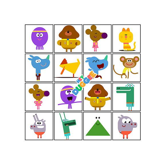 Hey Duggee Characters and Logo - SVGs, PDFs, PNGs - Printable - Cricut Design Space Tested - High Resolution