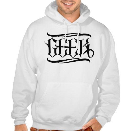 Geek Sweatshirt #geek #lettering #LetterHype