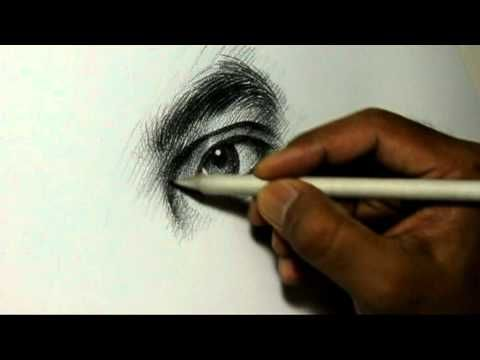 ▶ Pencil Drawing Artist Alamgir at work - YouTube