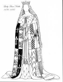 [LADY ANNE NEVILLE, 1456-1485]
