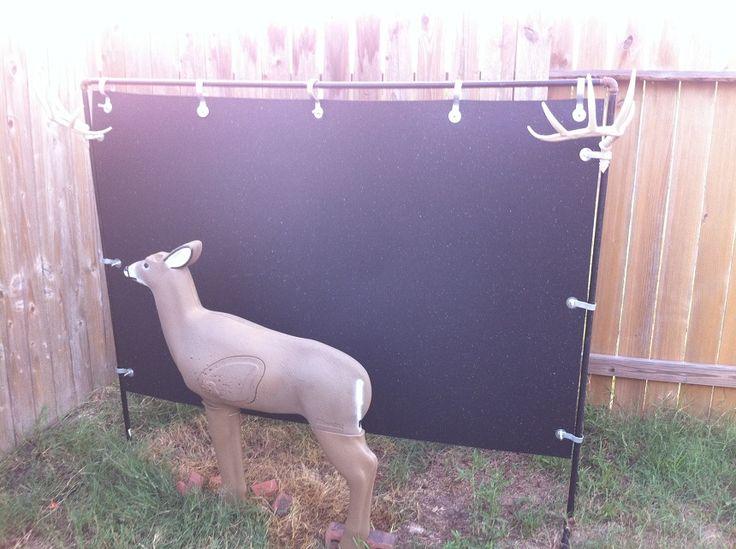 Backyard Archery Range Backstop : Horse stalls, Backyards and Archery on Pinterest
