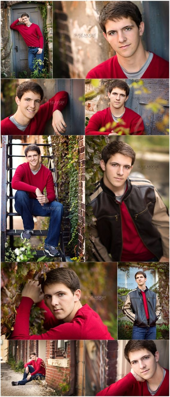 Senior Picture Ideas for Guys | Grant | Carl Sandburg High School | Chicago Senior Photographer | Susie Moore Photography