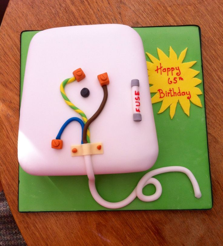 Cake for an Electrician