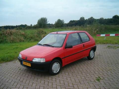 Ma voiture peugeot 106 xn 1993