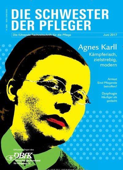 Agnes #Karll - Kämpferisch, zielstrebig, modern ⛑  Jetzt in Die Schwester - Der Pfleger:  #Pflege #Krankenschwester